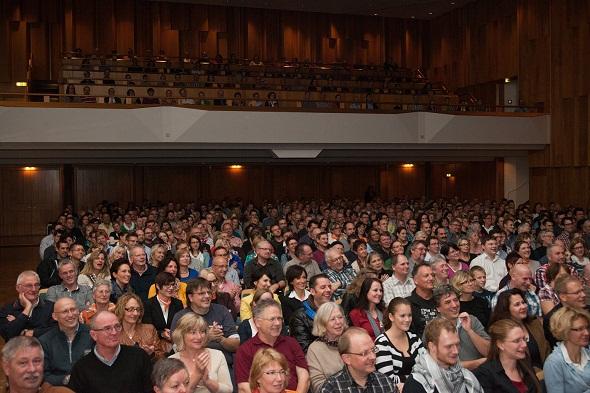 Publikum bei Andreas Müller