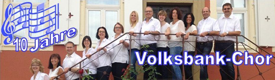 Konzert 10 Jahre Volksbank Chor