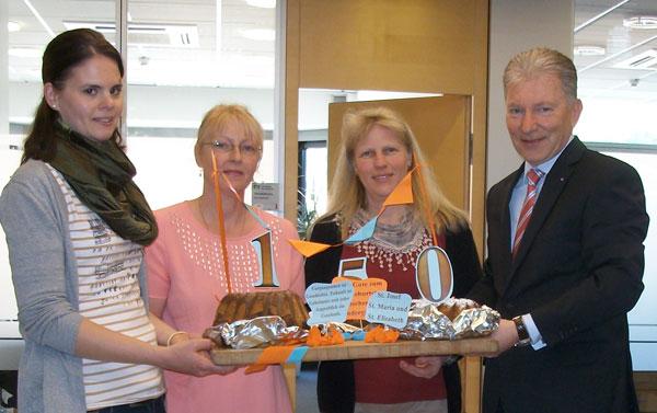 Kuchen Zum 150 Geburtstag Volksbank Neckartal Eg