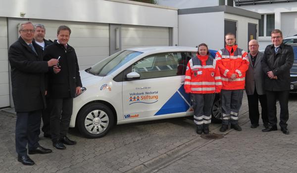 Volksbank Neckartal-Stiftung spende an DRK Ortsvereine