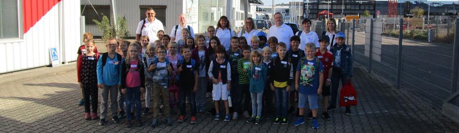 Gruppenbild Erlebnismuseum Fördertechnik