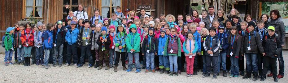 VR-Primax-Kids besuchten den Wildpark in Bad Mergentheim