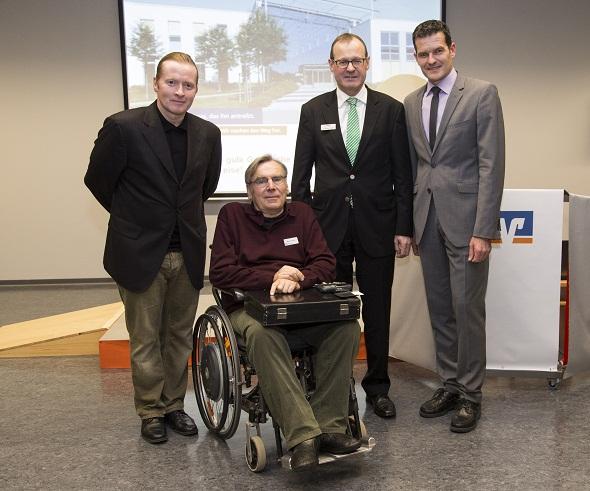 Joey Kelly bei der Manfred-Sauer-Stiftung